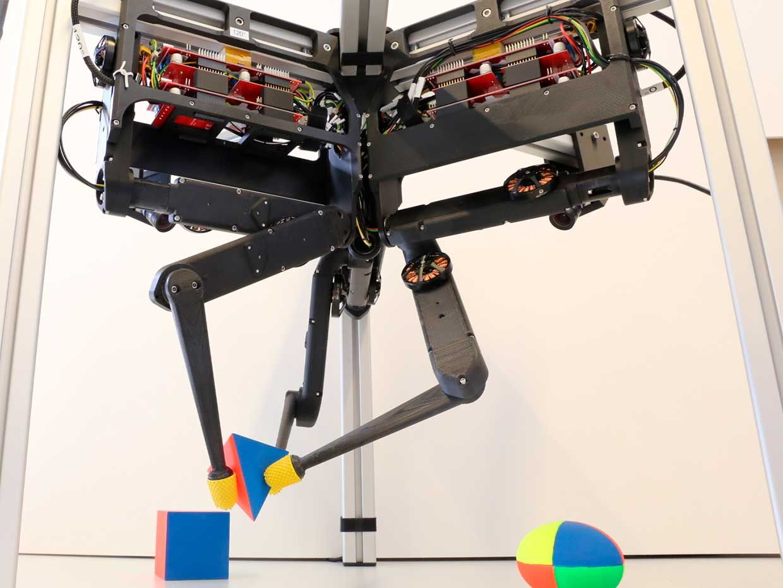 The TriFinger robotic platform.