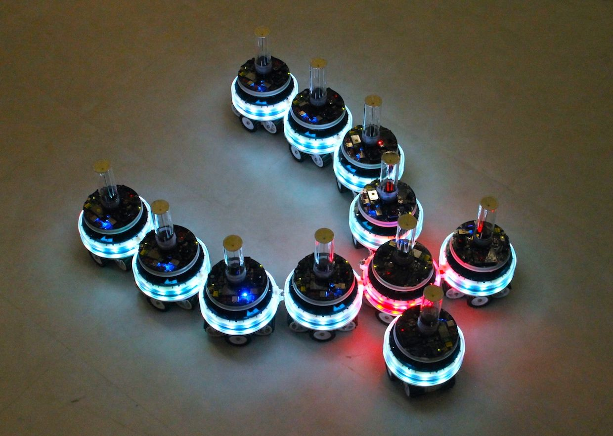 These robots can merge and split their brains to form new modular bots.