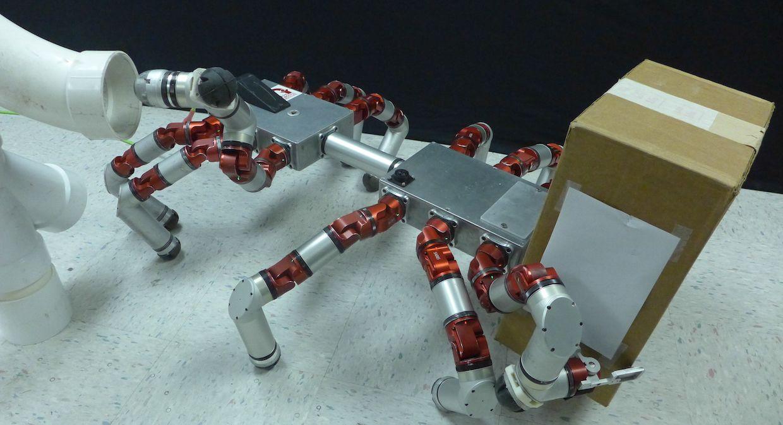 This CMU modular robot turns legs into arms on demand