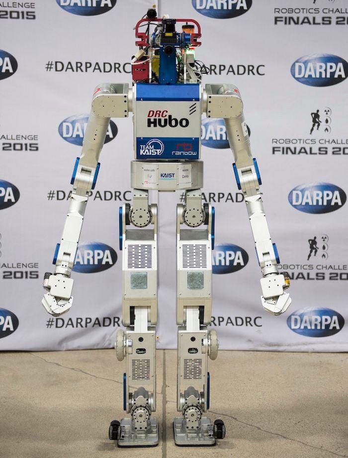 How South Korea's DRC-HUBO Robot Won the DARPA Robotics Challenge