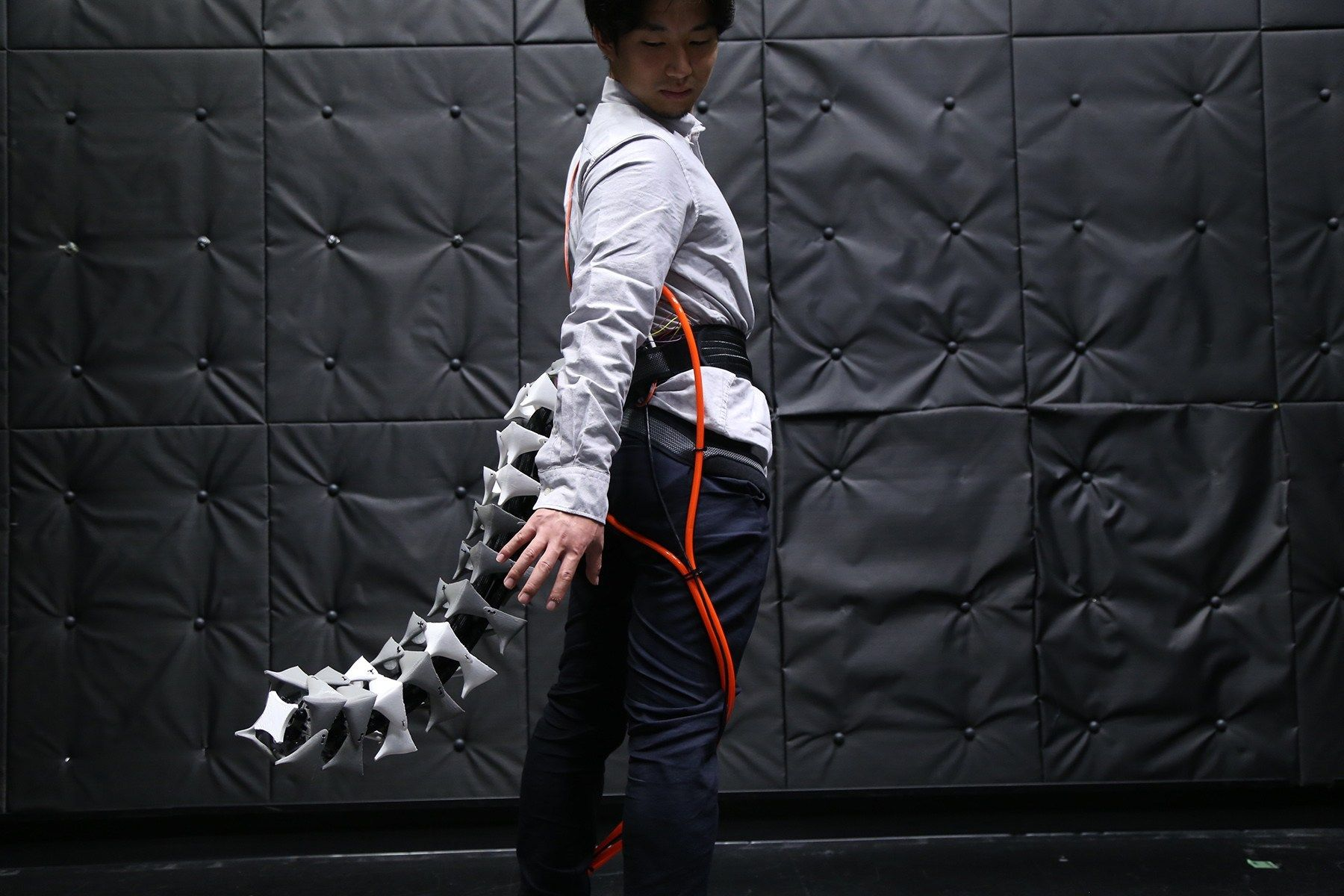 This Wearable Robot Tail Will Help You Balance