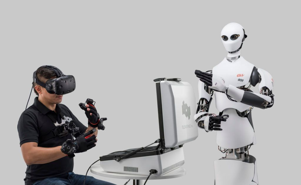 Tokyo-based robotic startup Telexistence inc. unveils its first mass production prototype for Model H