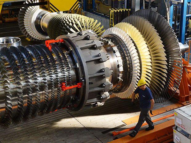turbine rotor in a gas turbine