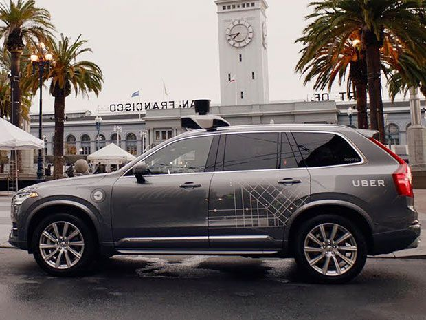 Uber wants to test its self-driving vehicles on California's roads without a permit.
