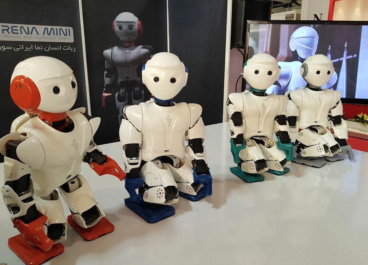 University of Tehran roboticists have recently unveiled a dancing, karate-chopping little humanoid called Surena Mini.