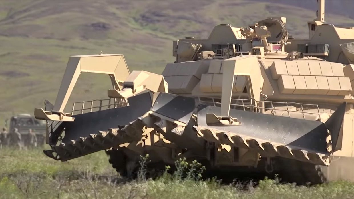 Unmanned Robotic Breach Vehicle