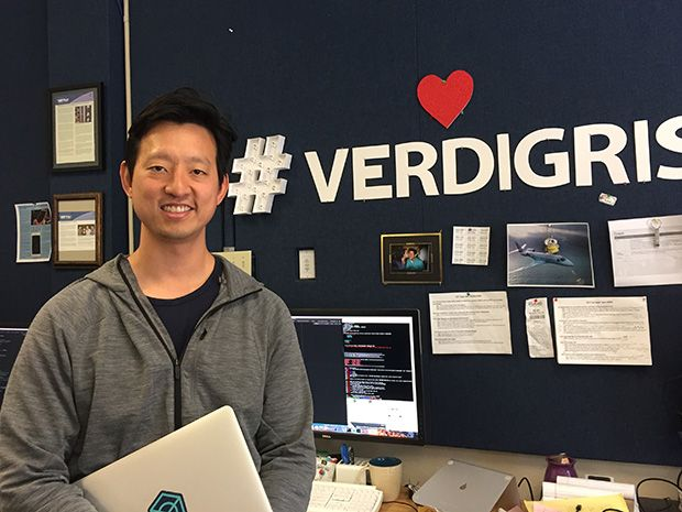Verdigris CEO Mark Chung has developed a system to track down energy wasters in homes and businesses by analyzing magnetic signals at the circuit breaker box.