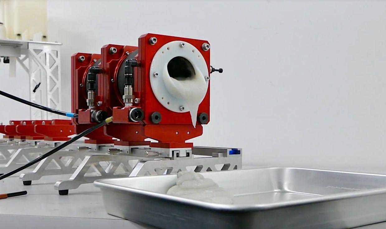 Watch This Robotic Intestine Puke Rocket Fuel