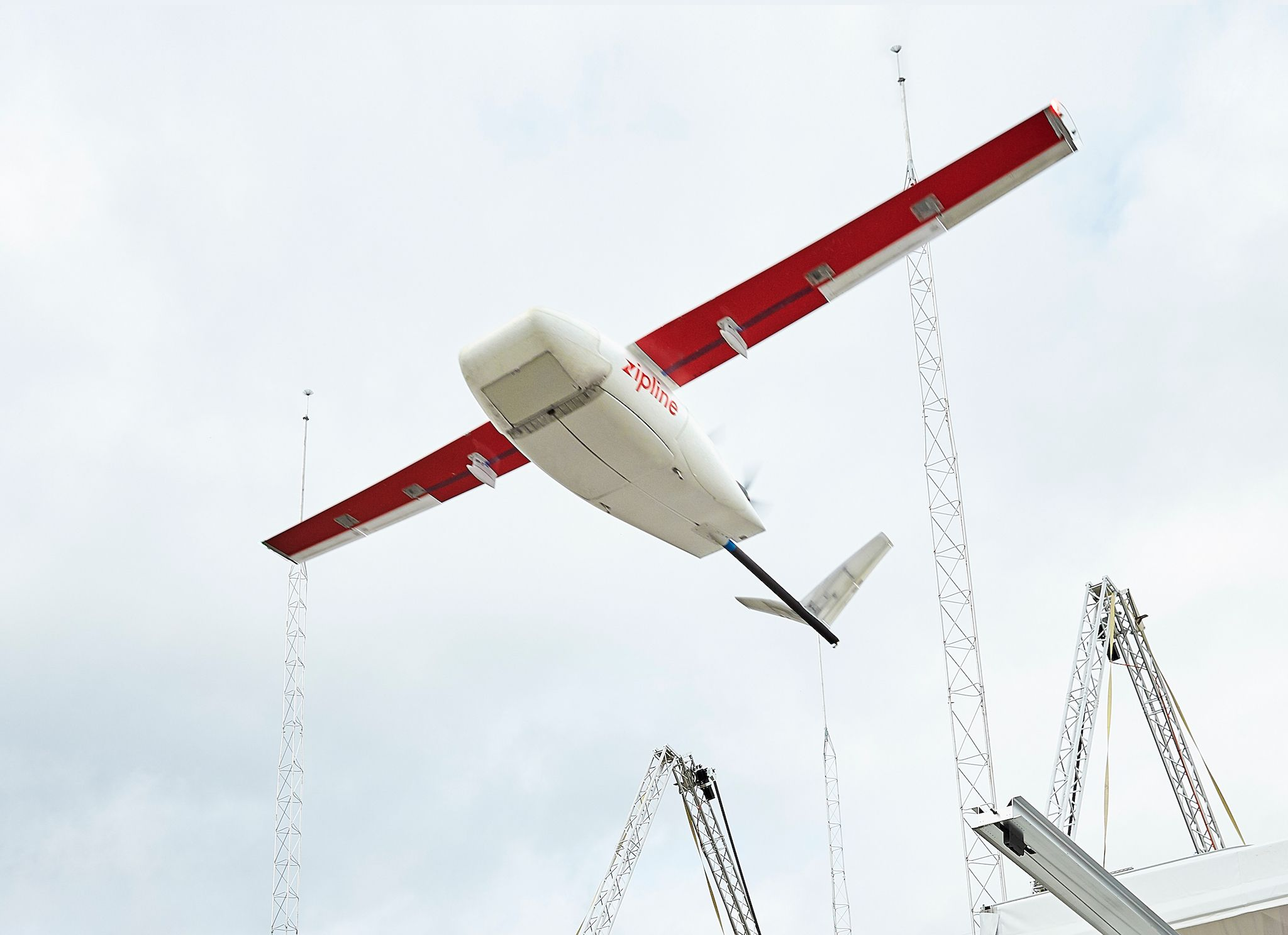 Zipline claims that its Ghana operation will be 'the largest drone delivery network of any kind in history.'