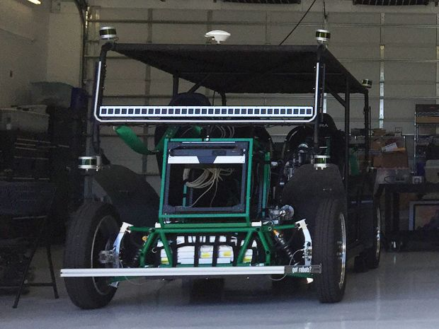 Zoox self-driving car prototype
